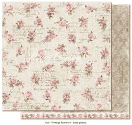 819 Scrappapier dubbelzijdig - Vintage Romance - Maja Design