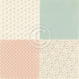 PD19004 Scrappapier - Life is Peachy - Pion Design