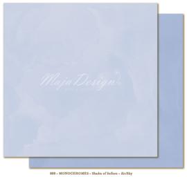 888 Scrappapier Monochromes Shades of Sofiero - Maja Design