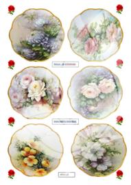 JDN012 Vintage vel A4 Natuur - Jellie Design