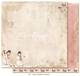 875 Scrappapier dubbelzijdig - I Wish - Maja Design