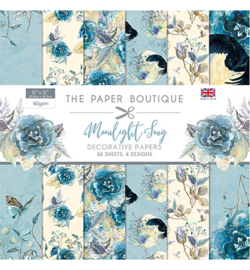 PB1135 Paperpad 30.5 x 30.5 cm Moonlight Song - The Paper Boutique   PAKKETPOST!