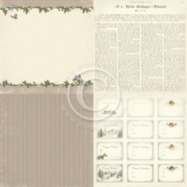 PD5204 Scrappapier Dubbelzijdig - Days of Winter - Pion Design
