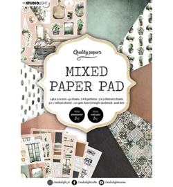 A5MPPSL157 - SL Mixed Paper Pad Pattern paper Essentials nr.157 - Studio Light