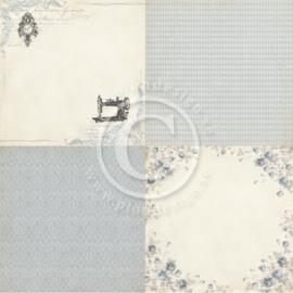 PD3502 Scrappapier - Alma's Sewing - Pion Design