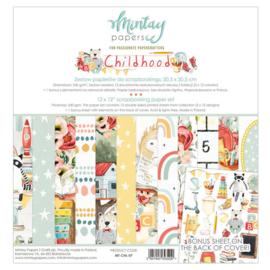 Paperpad Mintay - Childhood 30,5 x 30,5 cm - MT-CHL-07 - PAKKETPOST!!