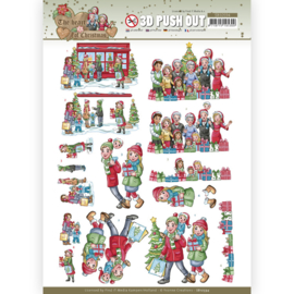 SB10594 Stansvel  A4 -The Heart of Christmas - Yvonne Creations