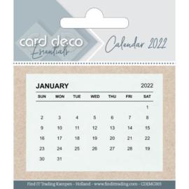 Mini kalenders 2022 - 10 stuks
