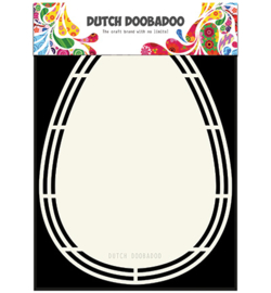 470.713.161 Dutch Shape Art A5 - Dutch Doobadoo