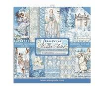 Paperpad 30.5x30.5cm - Winter Tales - Stamperia * PAKKETPOST *