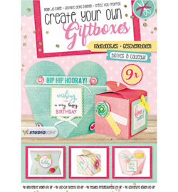 Gift Boxes nr. 02 blok A4 - Studio Light
