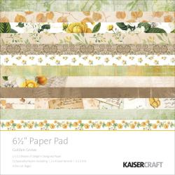 "PP1024 Paperpad 6.5"" x 6.5 "" Golden Grove - Kaisercrafts"