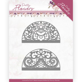 PM10191 Snij- en embosmal - Pretty Flowers - Marieke Design