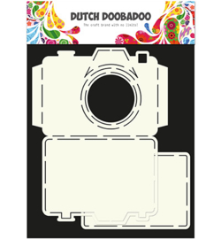 470.713.520 Card Art Stencil A4 - Dutch Doobadoo