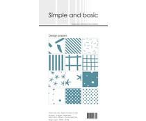 SBP906 Slim Paperpack 21x10cm - 24 stuks - Simple and Basic