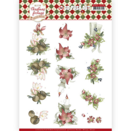 SB10374 Uitdrukvel A4 - Warm Christmas Feelings - Marieke Design