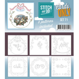 Cards Only Stitch and Do set 71
