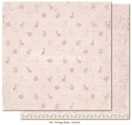 740 Scrappapier dubbelzijdig - Vintage Baby - Maja Design