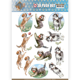 SB10377 Stansvel  A4 - Dog's Life - Amy Design