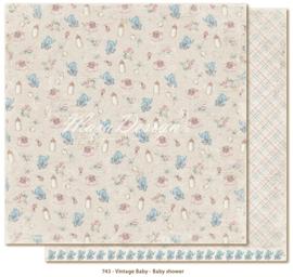 743 Scrappapier dubbelzijdig - Vintage Baby - Maja Design