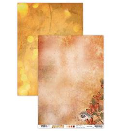 BASISWA330 Achtergrondpapier A4 dubbelzijdig  - Wonderful Autumn - Studio Light