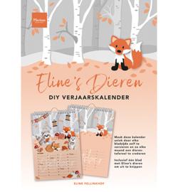 PB7061 - Calendar, Eline's Verjaardags kalender - Marianne Design