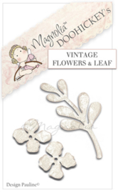 Doohickey Vintage Flowers and Leaf - Collectie 2011 - Magnolia