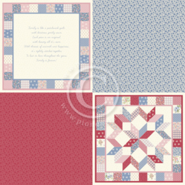 PD9304 Scrappapier - Patchwork of Life - Pion Design