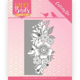 JADD10085 Snij- en embosmal - Happy Birds - Jeanine's Art