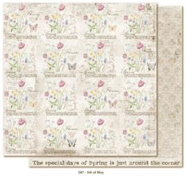 587 Scrappapier dubbelzijdig - Vintage Spring - Maja Design