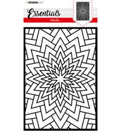 SL-ES-MASK38 - SL Mask Christmas Never ending star Essentials nr.38 - Studio Light