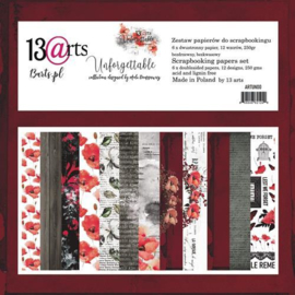 Paperpad 15,2 x 15,2 cm - 24 vel - Unforgettable - 13@arts