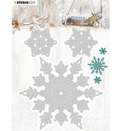 STENCILWC324  Snij- en embosmal  - Winter Charm - Studio Light