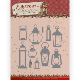 ADD10248 Snij- en embosmal - History of Christmas - Amy Design