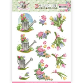 SB10332 Stansvel 3D vel A4 - Spring is Here - Amy Design