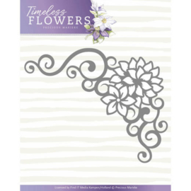 PM10121 Snij- en embosmal - Timeless Flowers - Marieke Design
