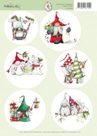 99070/003 A4 vel Gnome - Polka Doodles