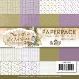 PMPP10015 Paperpad - The Nature Christmas - Marieke Design