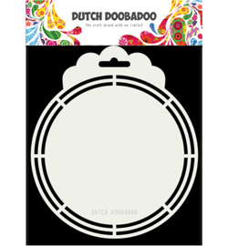 470.713.169 Dutch Shape Art A5 - Dutch Doobadoo