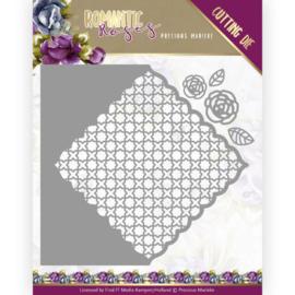 PM10196 Snij- en embosmal - Romantic Roses - Marieke Design