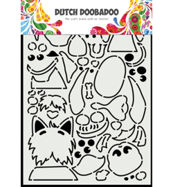 470.784.037 - Card Art Peek a boo hondjes