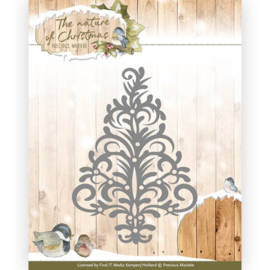 PM10102 Snij- en embosmal - The Nature Christmas - Marieke Design