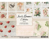 RBP002 Vintage Love and Romance A4 Paperpack - Reprint
