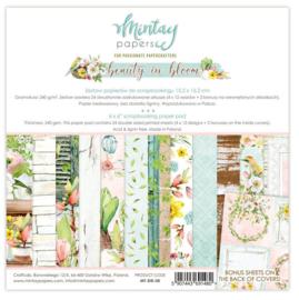 Paperpad 15x15cm - Beauty in Bloom - Mintay