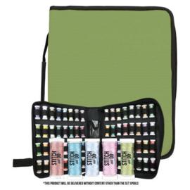 Storage Case - Embroidery Thread Spools SET incl 5 klosjes - Card Deco - PAKKETPOST!!