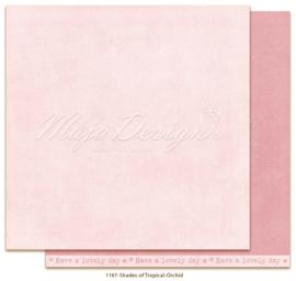1167 Scrappapier dubbelzijdig Monochromes  -  Tropicial Garden - Maja Design