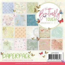 JAPP10019 Paperpad - Butterfly Touch - Jeanine's Art