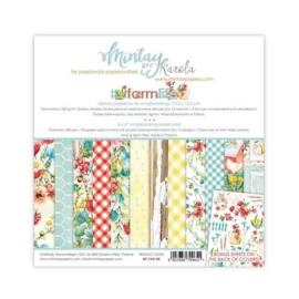 Paperpad 15.2 x 15.2cm - Farmlife - Mintay