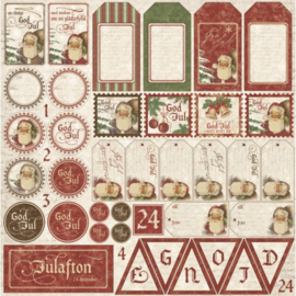 580 Scrappapier dubbelzijdig - It's Christmas  - Maja Design
