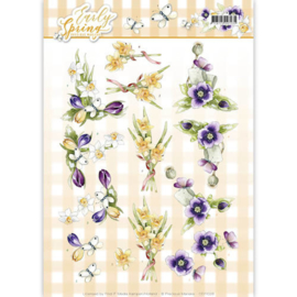 CD11026 Knipvel A4  -  Early Spring- Marieke Design